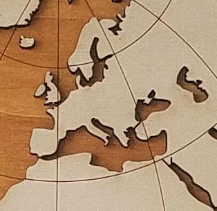 suppression des petites îles et simplification des contours