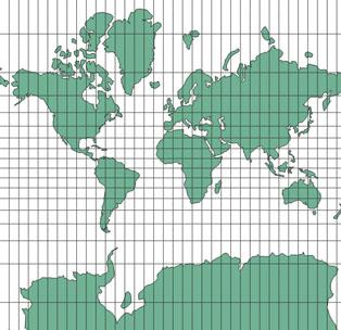 projection mondiale pseudo-Mercator