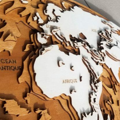 carte relief en bois europe asie afrique himalaya grand rift