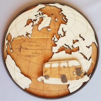 décoration en bois pour camping-car