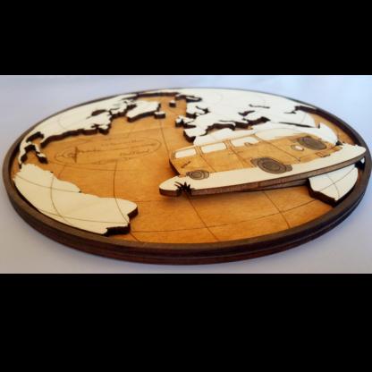 carte du monde pour camping-car