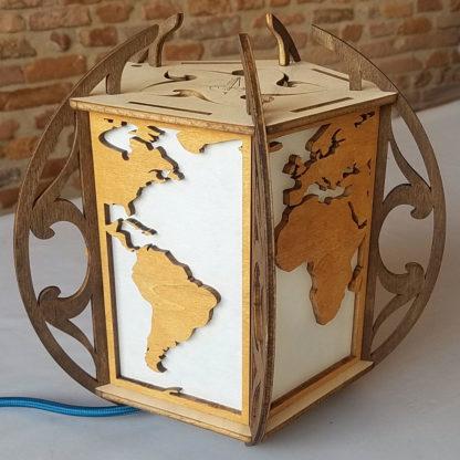 lampe bois afrique amerique