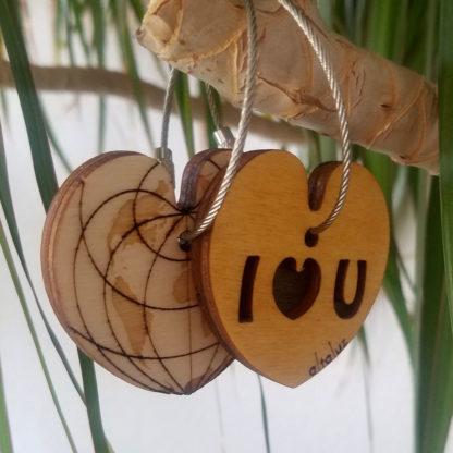 porte-clé pour amoureux