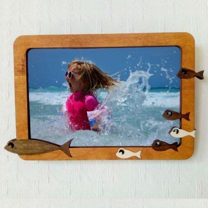 cadre photo bois mer