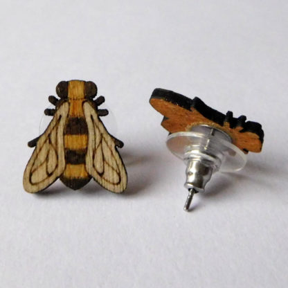 puce d oreille bois abeille