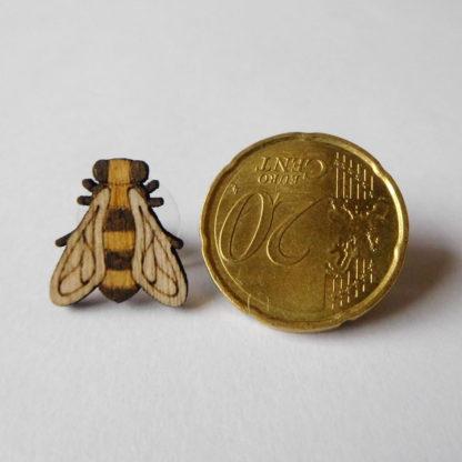 abeille en bois