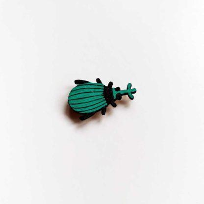 Bijou de masque scarabée