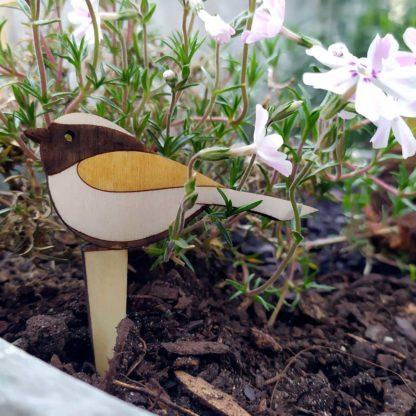 décoration plantes vertes oiseau