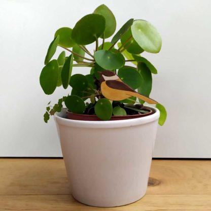 décoration pour plante en pot
