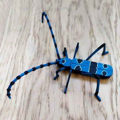 maquette en bois insecte longicorne